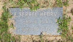 E. Ferrel Henry