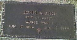 John Arvid Aho
