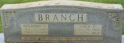 Benjamin F. Branch