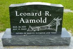 PFC Leonard R. Aamold