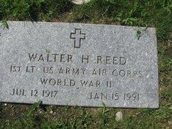 Walter H Reed