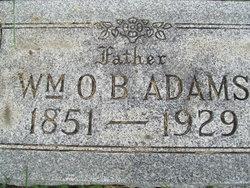William O. B. Adams