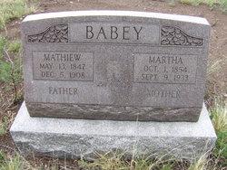 Mathiew Matt Babey