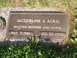 Jacqueline A Acrie