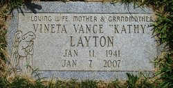 Vineta Vance Kathy <i>Pool</i> Layton