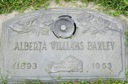 Alberta <i>Williams</i> Baxley