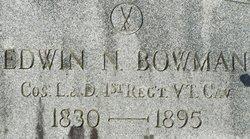 Edwin N Bowman
