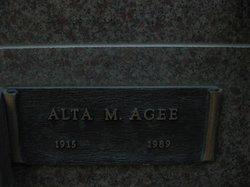 Alta M Agee