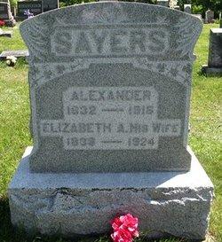 Elizabeth Adaline <i>Morris</i> Sayers