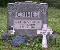Myrtle A <i>Domer</i> Grimes