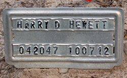 Harry David Hewett