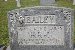 Ada Vance <i>Rorie</i> Bailey