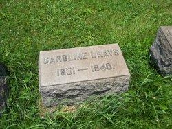 Caroline Isabelle <i>Cunningham</i> Hays