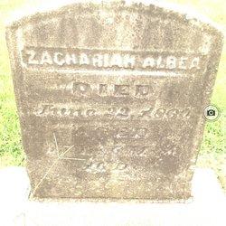 Zachariah Albea
