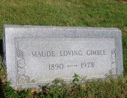 Maude <i>Loving</i> Gimble