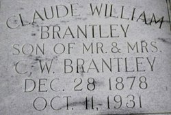 Claude William Brantley