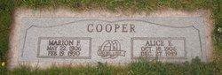 Marion F. Cooper