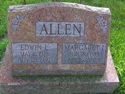 Margaret I. Peggy <i>Cubbon</i> Allen
