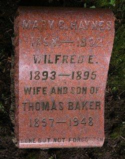 Mary Clementina <i>Haynes</i> Baker