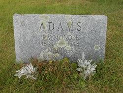 Raymond E Adams, Sr