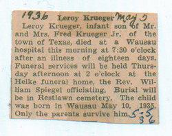 Leroy Donald Krueger
