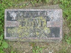 Katherine <i>Thompson</i> Rowe