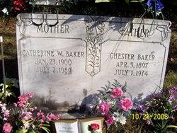 Catherine W <i>Wilson</i> Baker