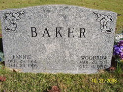 Fannie <i>Robertson</i> Baker