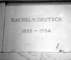 Rachel V. <i>Morris</i> Deutsch