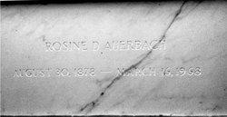Rosine <i>Deutsch</i> Auerbach