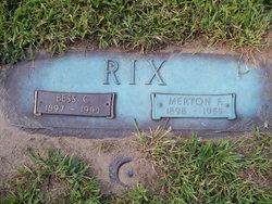 Merton F. Rix
