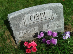 Carrie Catherine <i>Hansel</i> Clyde