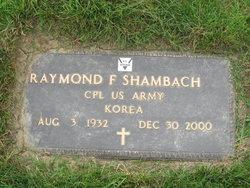 Corp Raymond Franklin Shambach, Jr
