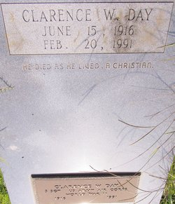 Clarence W Day