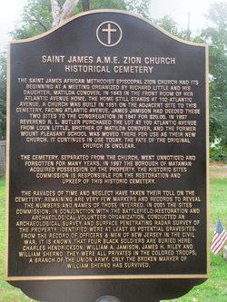 Saint James AME Zion Churchyard