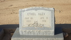 Mary Ethel <i>Daniel</i> Aley