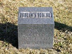 John P Alexander
