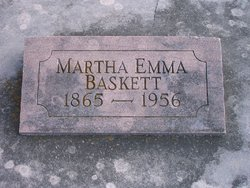 Martha Emmaline <i>Smith</i> Baskett