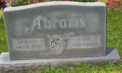 Effie Townsend <i>Peach</i> Abrams