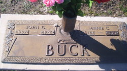 Annie Cornelia <i>Cannon</i> Buck