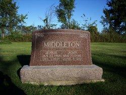 Sarah Jane Jennie <i>See</i> Middleton