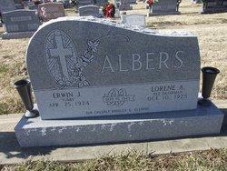 Erwin J Tubby Albers