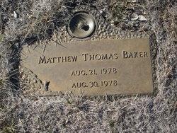 Matthew Thomas Baker