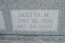 DeEtta M <i>Wylie</i> Armstrong