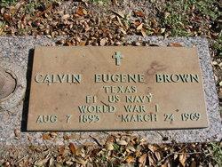 Calvin Eugene Brown