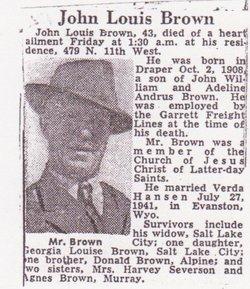 John L Brown
