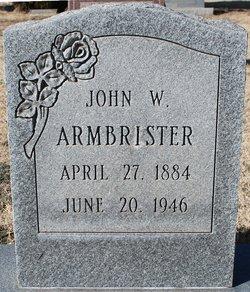 John W Armbrister