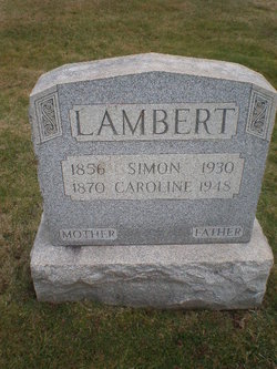 Caroline S <i>Shoudt</i> Lambert