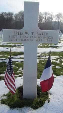 SSgt Fred W. T. Baker