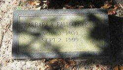 Barbara A. Ferrill